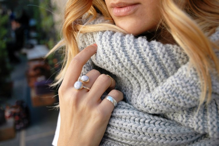 Chunky Scarf | Charmed by Camille