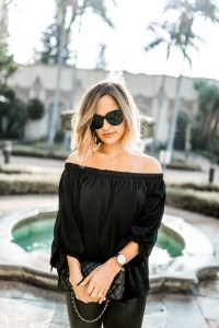 Cold Shoulder Tops | Charmed by Camille