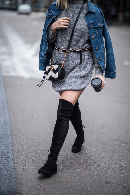 Over the Knee Boots | Charmed by Camille