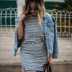 Stripes and Denim | Charmed by Camille