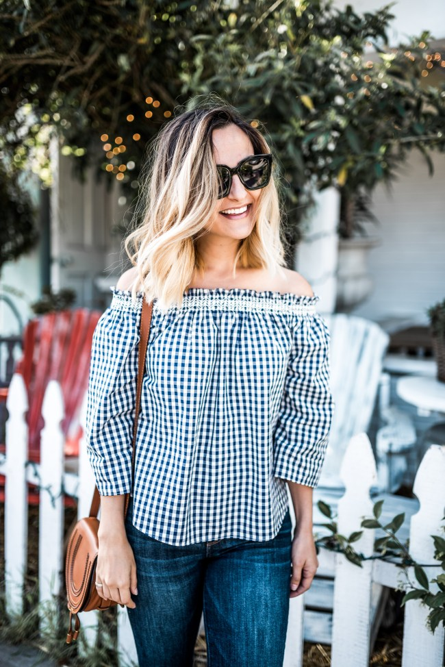 Gingham | Charmed by Camille