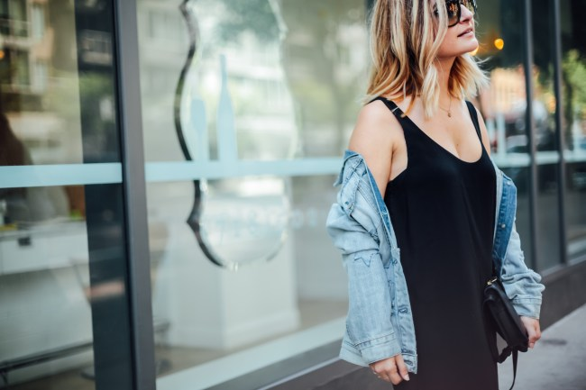 Black Slipdress | Charmed by Camille