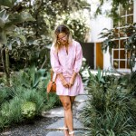 Millenial Pink Dress | Charmed by Camille