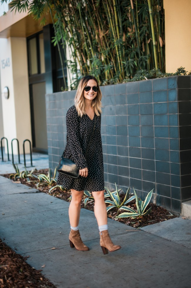 Star Print Dress | Charmed by Camille