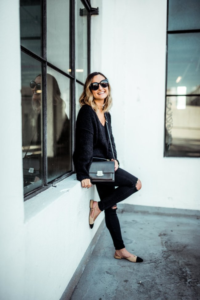 Oversized Sweater | Charmed by Camille