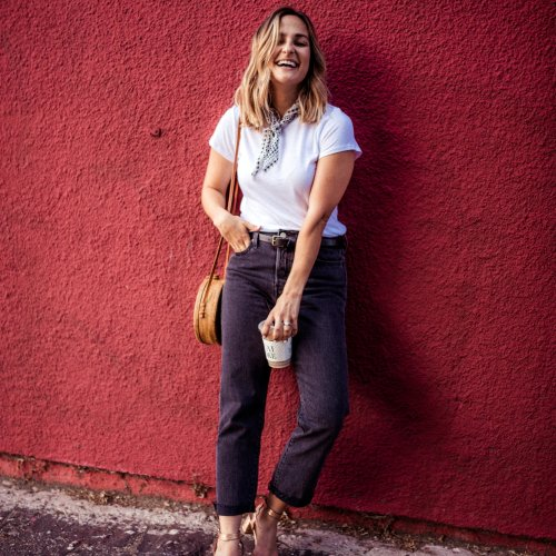 Black Summer Jeans | Charmed by Camille