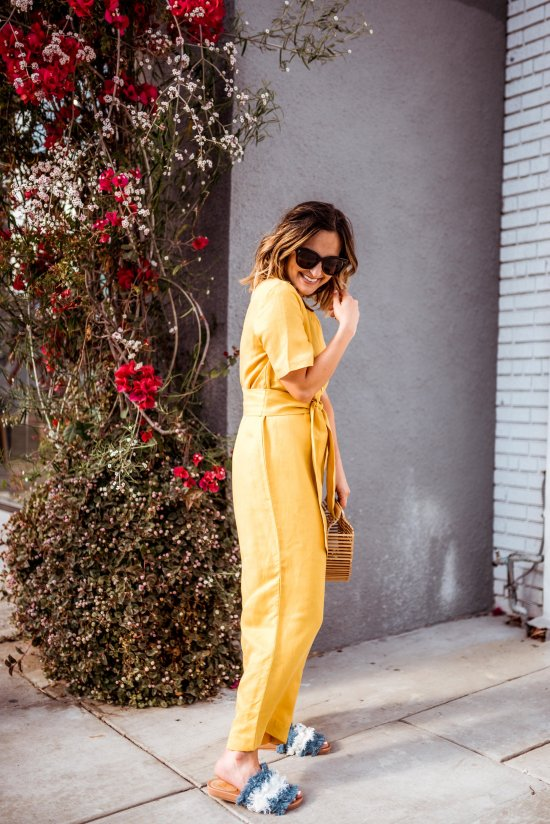 Mustard Yellow Jumpsuits   Charmed by Camille