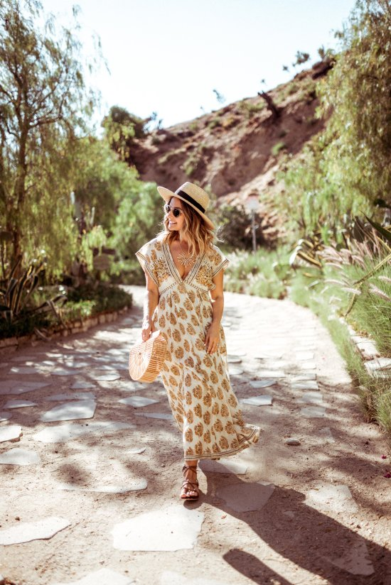 Free People Maxi Dress | Charmed by Camille