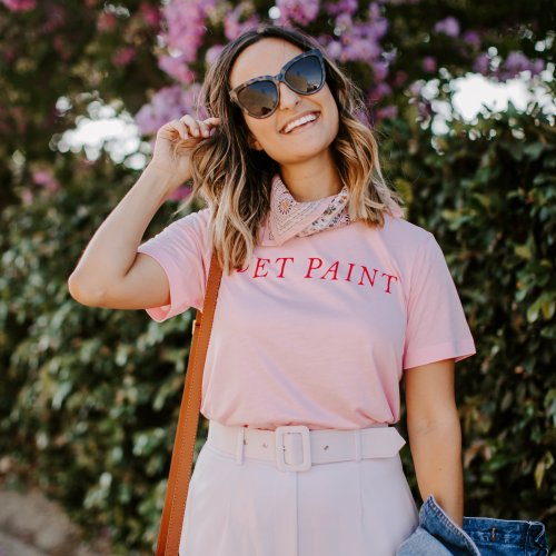 Lavender and Pink Outfit | Charmed by Camille