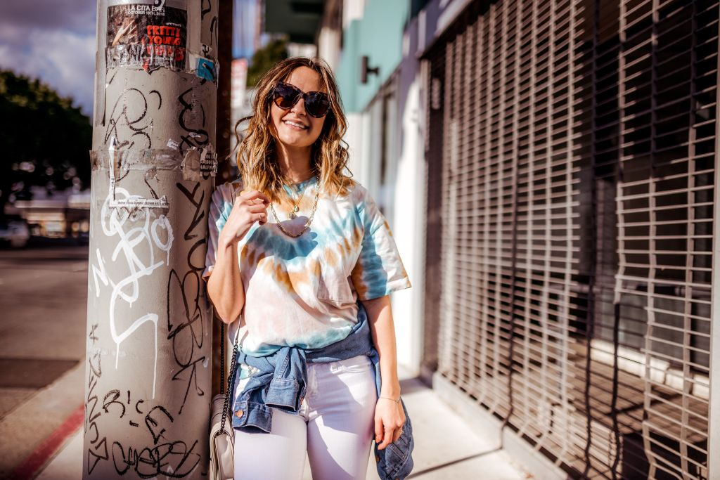 How to Wear The Tie Dye Trend | Charmed by Camille
