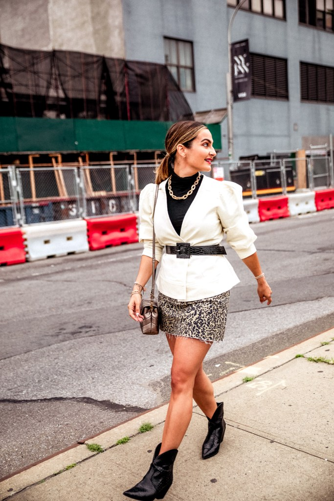 What I Wore to New York Fashion Week | Charmed by Camille