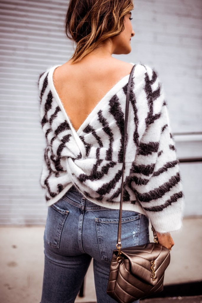 The Cutest Animal Print Sweaters for Fall and Winter | Charmed by Camille