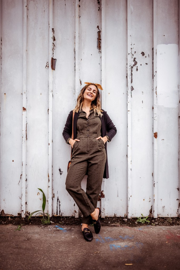Polka Dot Jumpsuit | Charmed by Camille