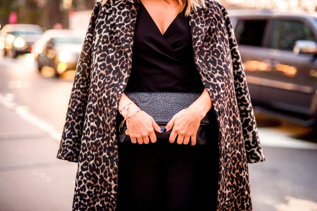 Leopard Print Coat | Charmed by Camille