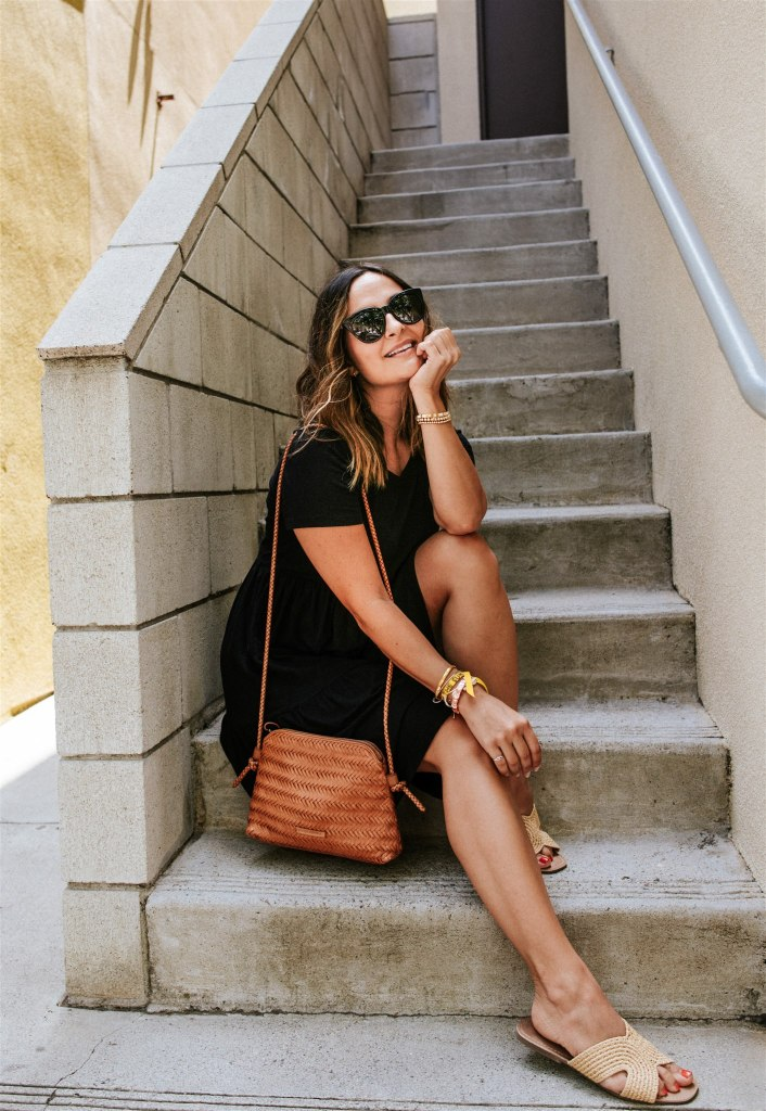 How to Wear a Black Dress in Summer | Charmed by Camille
