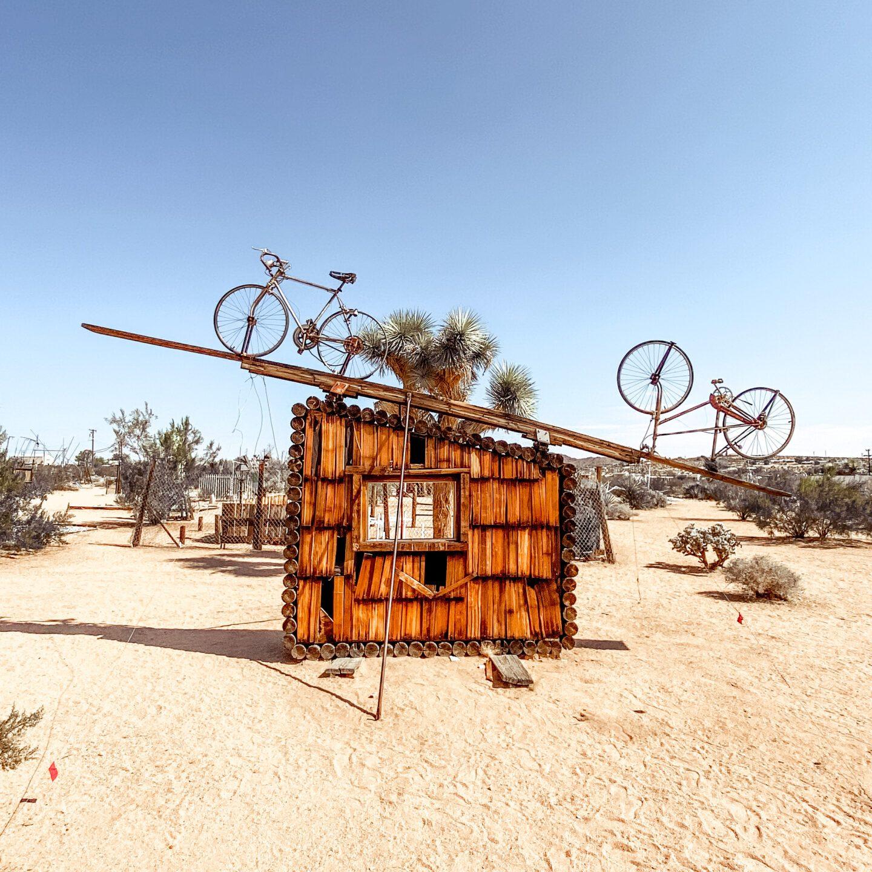 Joshua Tree Weekend, Noah Purifoy, Desert Art | Charmed by Camille
