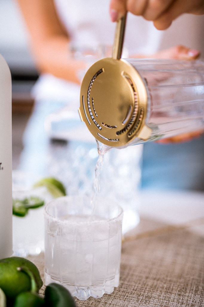 How to Make a Spicy Mezcal Margarita | Charmed by Camille
