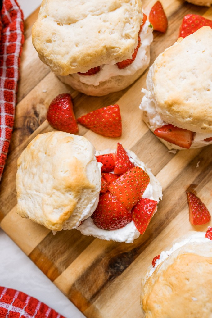 Semi-Homemade, Easy Strawberry Shortcake   Charmed by Camille
