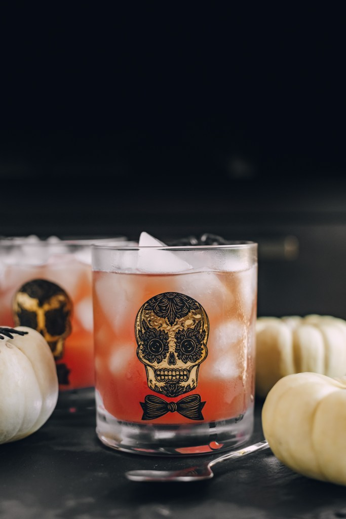 Poisoned Apple   Three Ingredient Easy Halloween Cocktail   Charmed by Camille