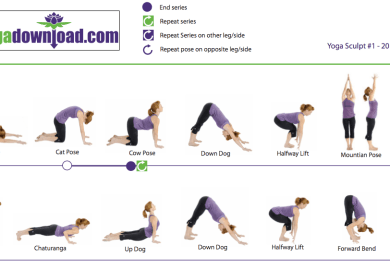 List Of Yoga Poses Step By Step Instructions For Asanas