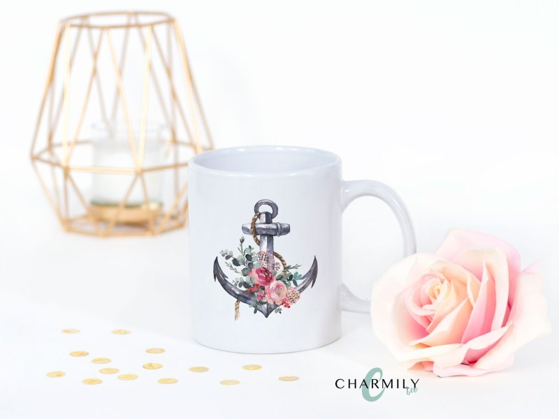 Floral Coffee Cups