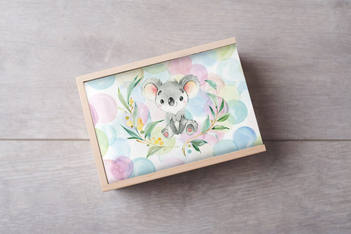 Koala-Bubbles-Keepsake-Box-Large
