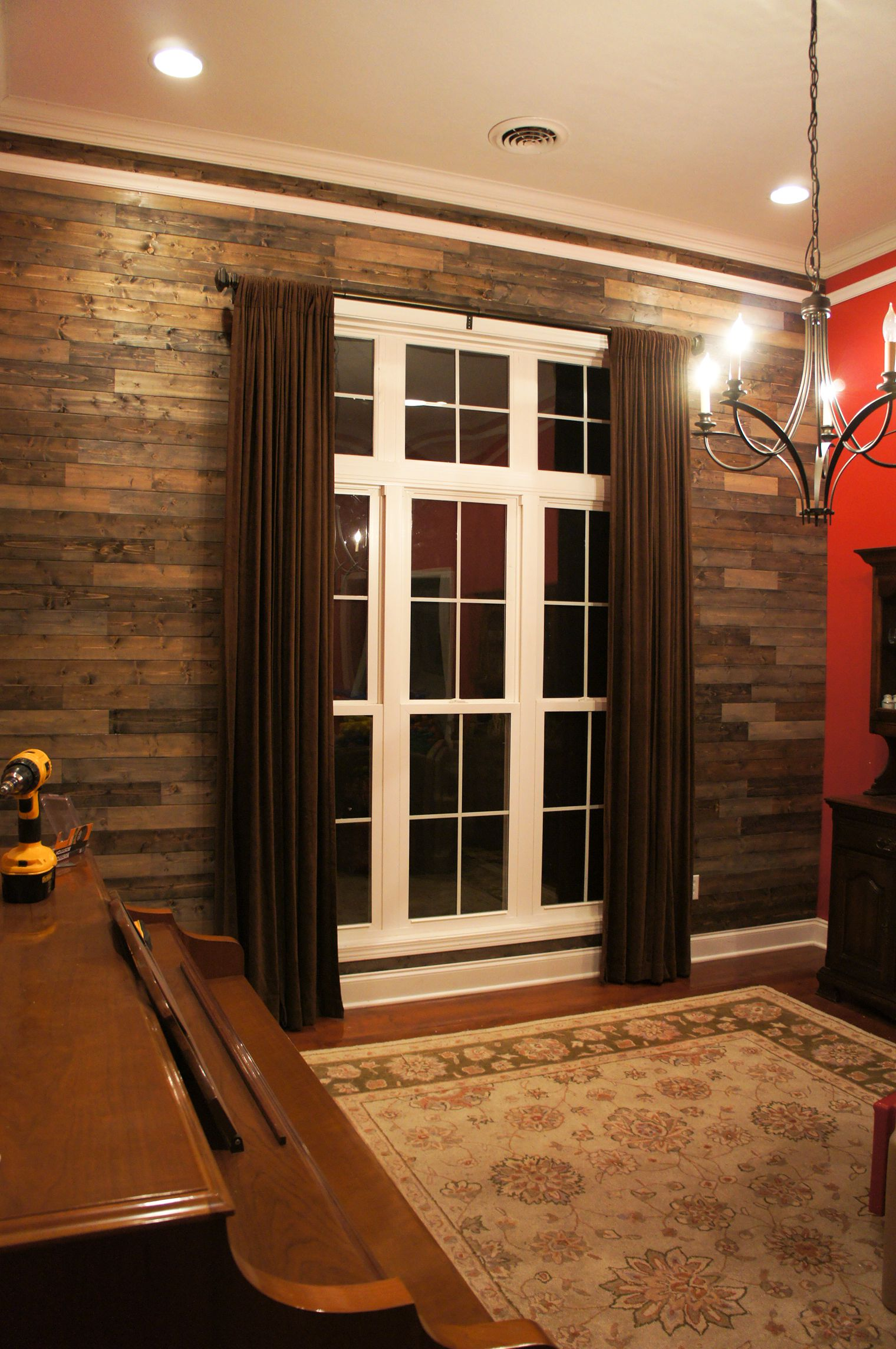 Palletless PALLET Wall  Dining Room  CharmingOllie