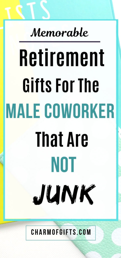 retirement gifts for male