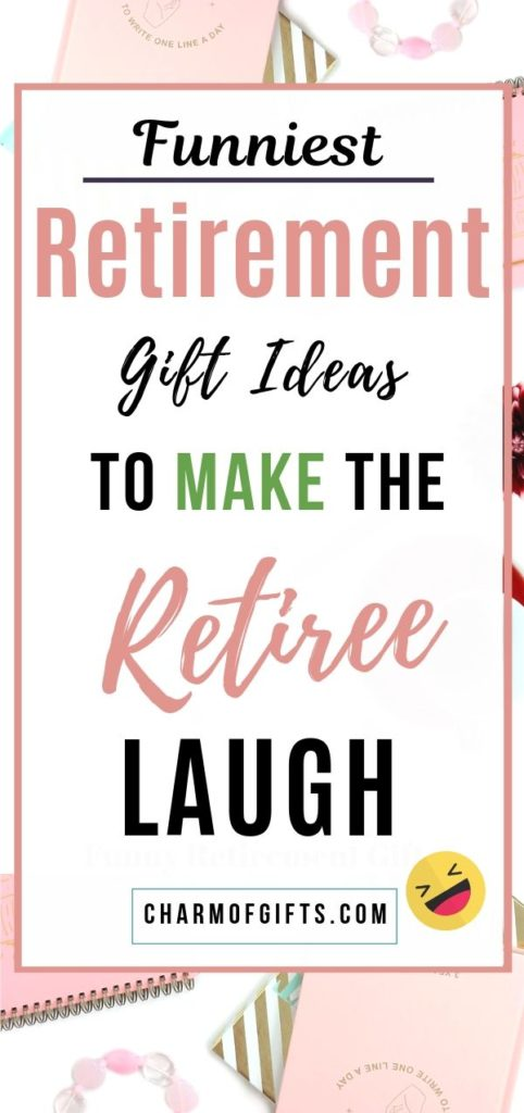 the funniest retirement gifts
