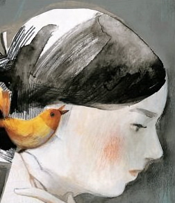Isabelle Arsenault's Dickinson ... hope on shoulder