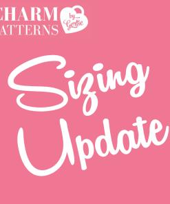 Charm Patterns Sizing Update
