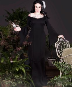 Morticia Addams inspired gown