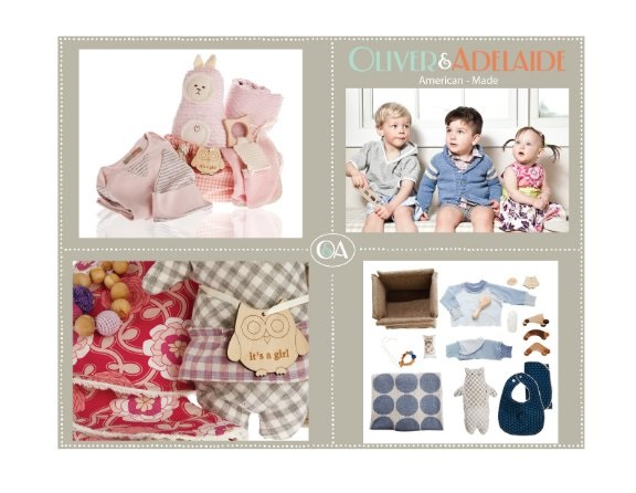 Oliver & Adelaide American-Made Luxury Baby Gifts Available At Saks Fifth Avenue, Oliver & Adelaide American-Made Luxury Baby Gifts Available At Saks Fifth Avenue