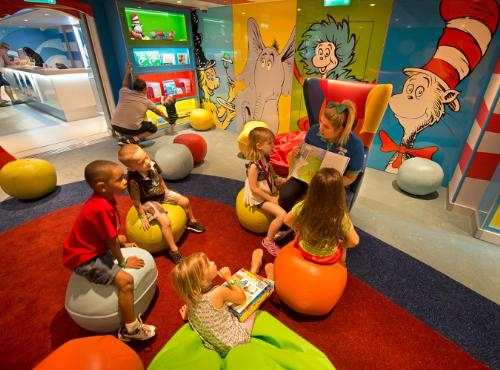 Carnival Cruise Lines Adds Dr. Seuss Bookville Family Reading Venue, Carnival Cruise Lines Adds Dr. Seuss Bookville Family Reading Venue #FamilyTravel