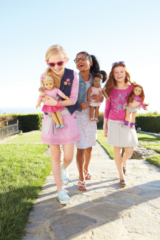 American Girl's Truly Me line CharmPosh Girls Fashion 1