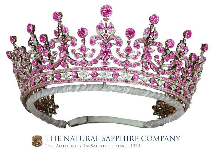 The Girls Of Great Britain And Ireland Tiara (PRNewsFoto/The Natural Sapphire Company NY)