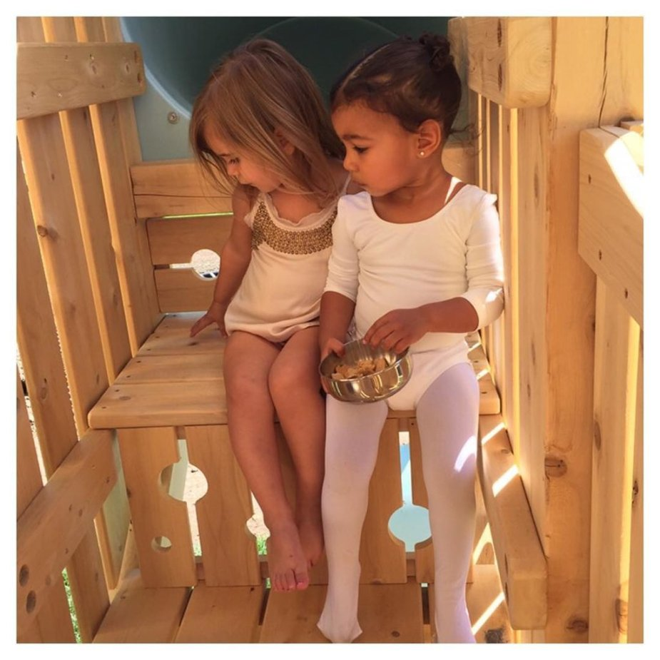 North and Pe, North and Pe BFFs Cute Cousin Style #NorthAndPe #CharmPosh