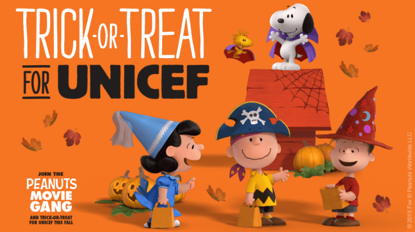 Trick-or-Treat for UNICEF 2015 CharmPosh