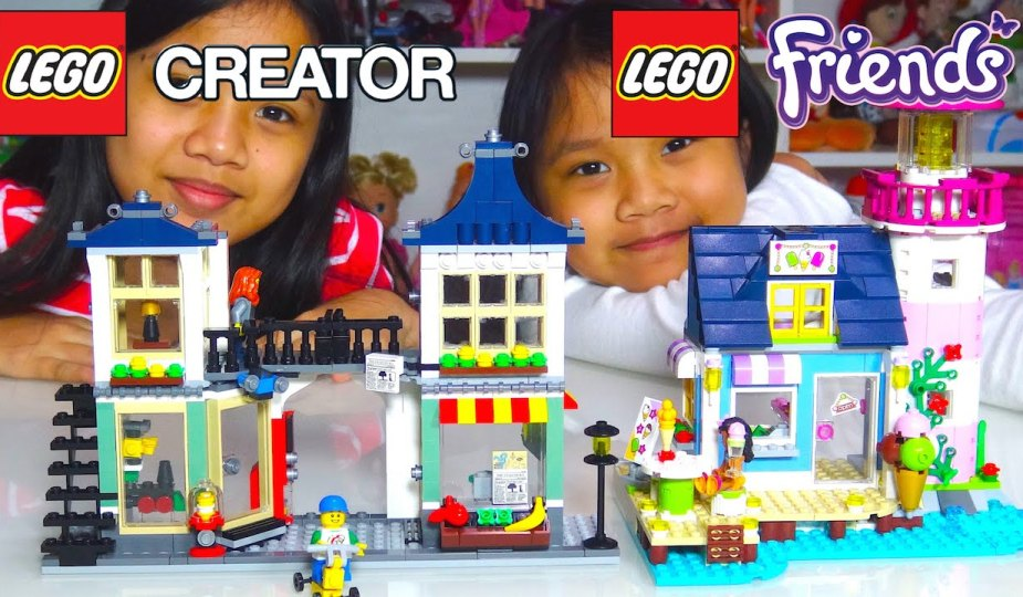 Kids' Toys LEGO Creator and LEGO Friends Playsets Review