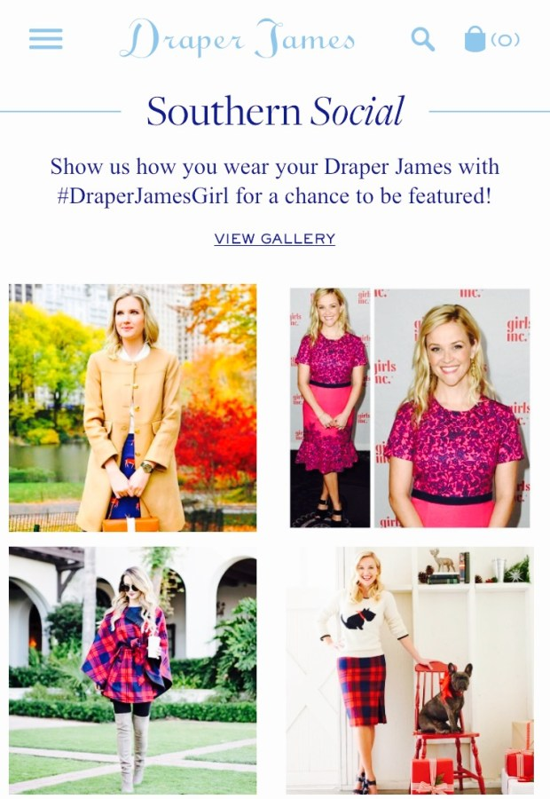 Draperjames by Reese Witherspoon Best Celebrity Mom Websites CharmPosh