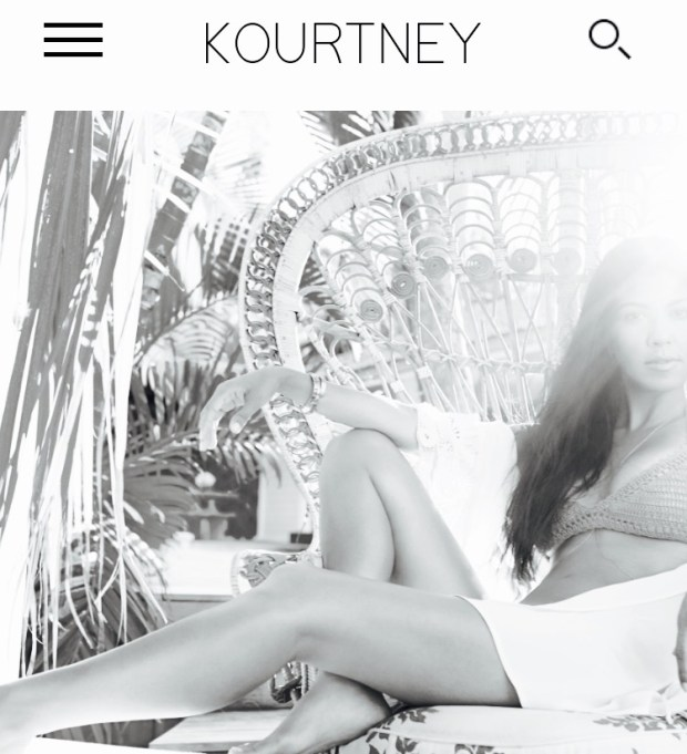 Kourtneykardashian by Kourtney Kardashian Best Celebrity Mom Websites CharmPosh