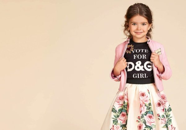 Dolce & Gabbana Girls Spring Summer 2018 top pick CharmPosh