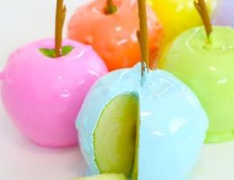 tastemade rainbow candy apples CharmPosh