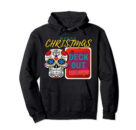 CharmPosh: Merry Christmas Deck Out Runway Pullover Hoodie