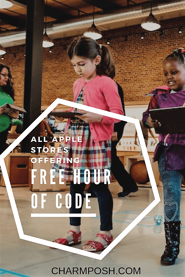 Free Hour of Code Apple Computer Science Education CharmPosh