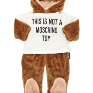 Bear Fleece Romper by MOSCHINO CharmPosh