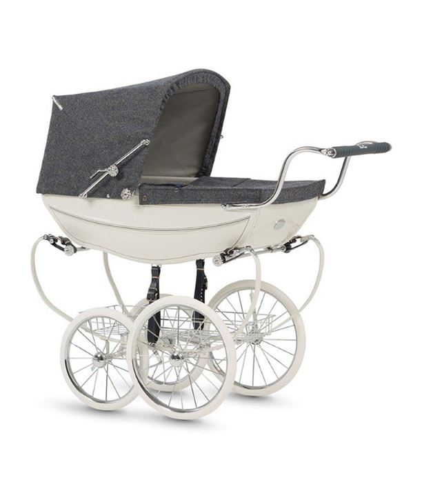 140th Anniversary Balmoral Doll's Pram by Silver Cross CharmPosh
