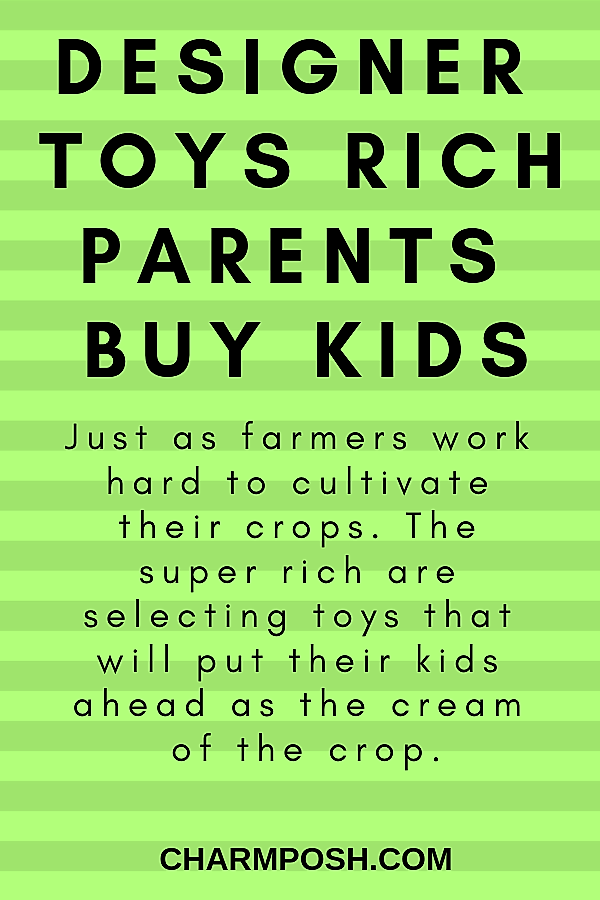 Designer Toys Rich Parents Buy Kids main CharmPosh