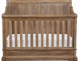 Bertini Pembrooke Brown 5-in-1 Convertible Crib CharmPosh Baby Cribs main