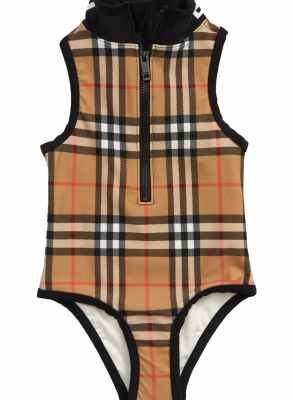 Burberry Siera Check One-Piece Swimsuit CharmPosh